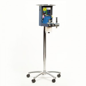The EX3000 electronic veterinary anesthesia machine