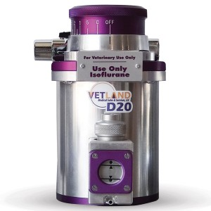 Vetland D20 Anesthetic Agent Vaporizer